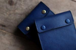 藍染革[shiboai]A7サイズメモ帳
