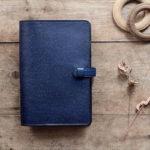 藍染革[数多]B6手帳カバー