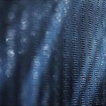 藍染革[江戸小紋]の染色