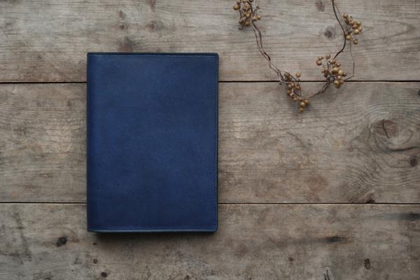 藍染バイブルサイズシステム手帳