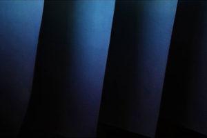 藍染レザーグラデーション