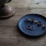 藍染革レザートレイ
